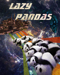 Lazy Pandas propaganda poster