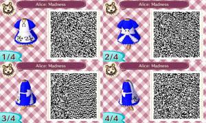 Animal Crossing: Alice Madness Returns QR Code by ClockworkEmotion