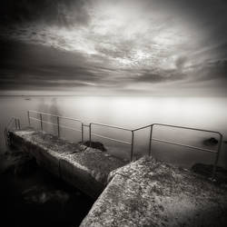 sea,fence...and - 2 by denis2