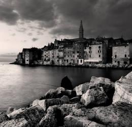Fisherman and Rovinj... by denis2