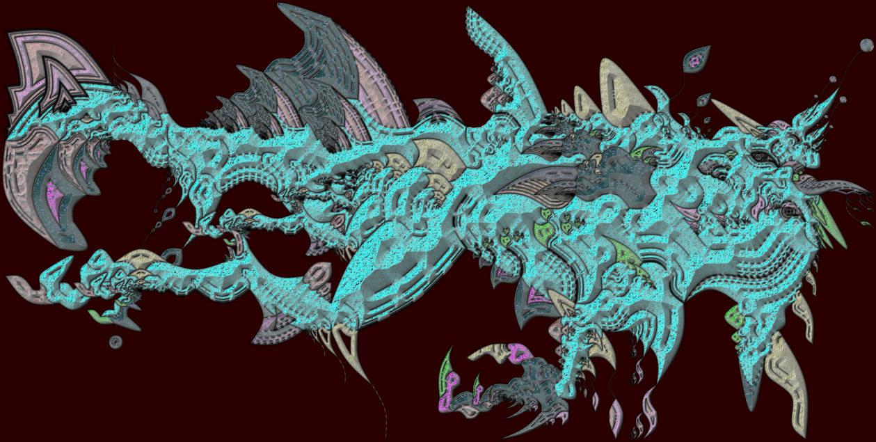 SEA DRAGON 1 - MUTANT NECTOSAURUS - FIRST