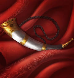 Horn of Recall by shiroixue