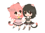 :c: Mimi and Momo