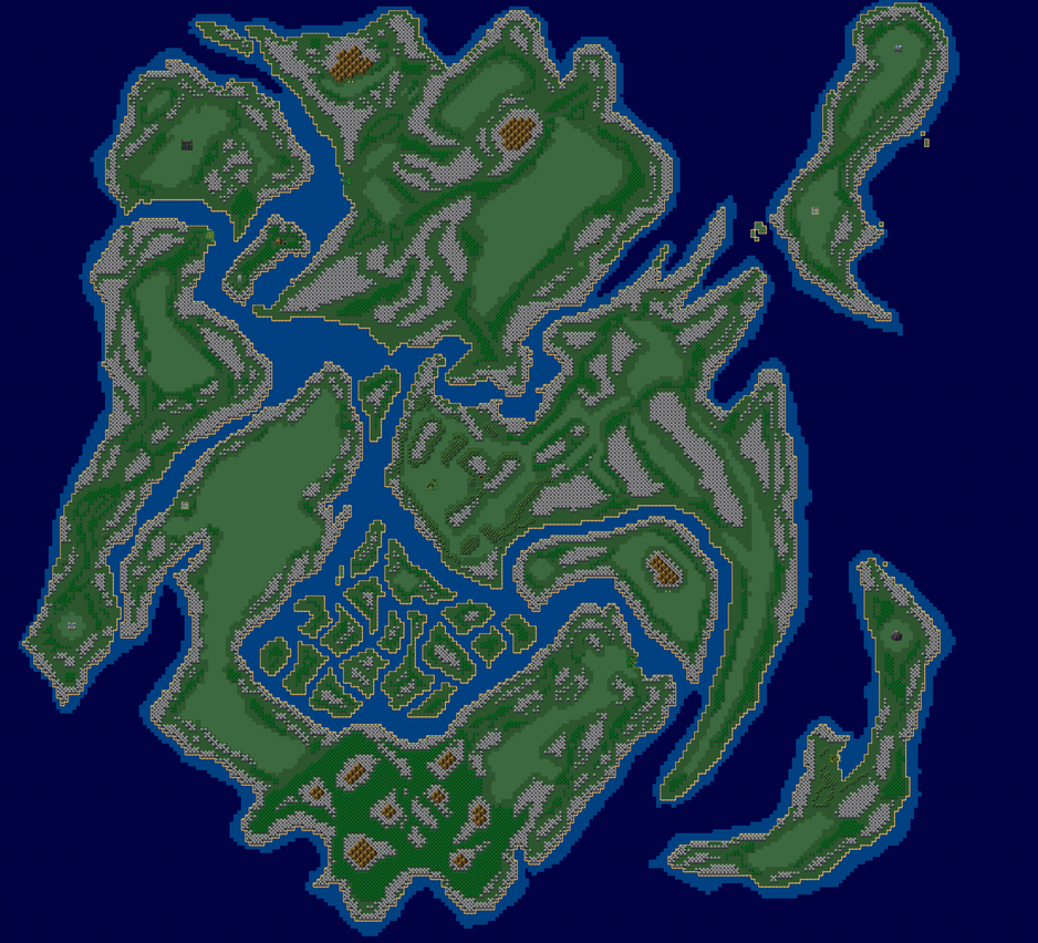 Continent of ? by TheWhiteRose000