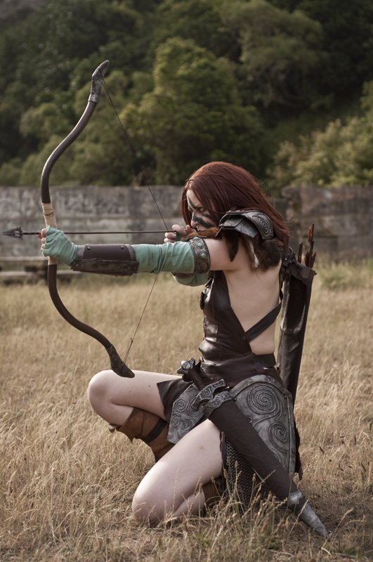 Aela the Huntress 02 by static-sidhe
