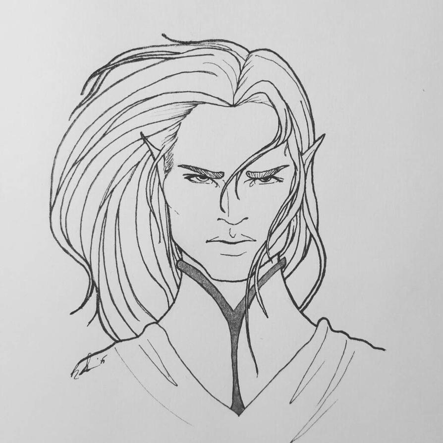 inktober day 5: Feanor by otterling