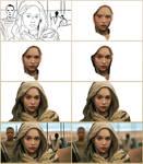 Daenerys Targaryen in steps