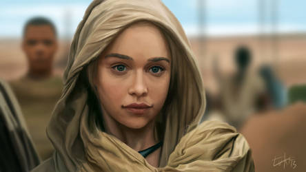 Daenerys Targaryen by Lukecfc