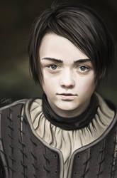 Arya Stark - Game of Thrones by Lukecfc