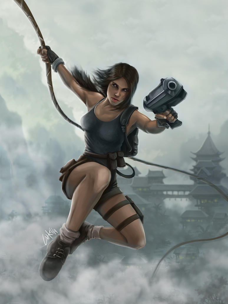Lara Croft by Lukecfc