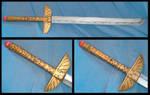 Okami - Kutone - Okikurmi Oki's Cosplay Sword by YellerCrakka