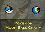 Pokemon - Moon Ball Charm
