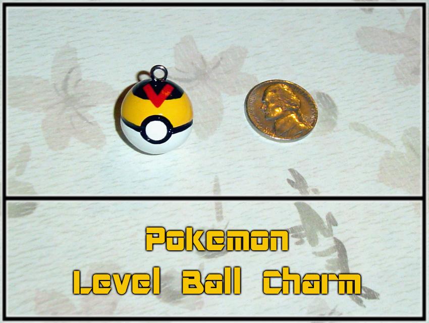 Pokemon - Level Ball Charm by YellerCrakka
