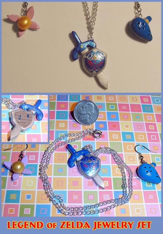 Legend of Zelda Jewelry Set by YellerCrakka