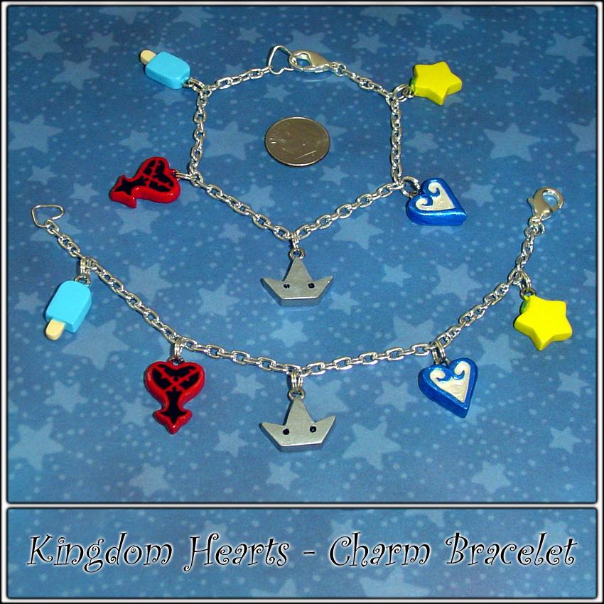 Kingdom Hearts Charm Bracelet