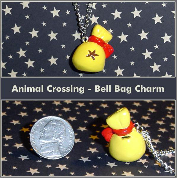 Animal Crossing Bell Bag Charm by YellerCrakka