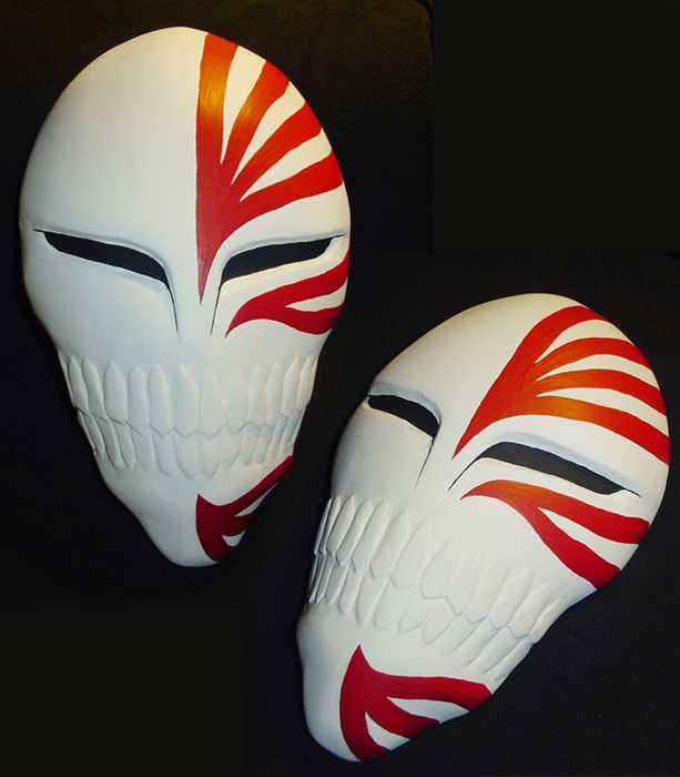 Ichigo Hollow Mask By YellerCrakka On DeviantArt