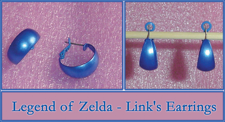 Legend of Zelda Links Earrings by YellerCrakka
