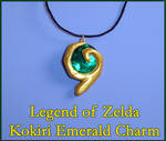 Zelda - Kokiri Emerald Charm