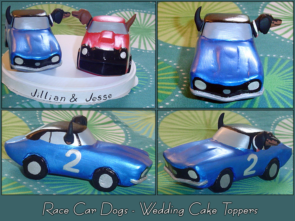 race car driver wedding cake topper race dogs wedding cake toppers by yellercrakka on deviantart 18952