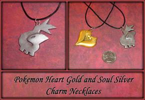 Pokemon Soul Silver Charm Necklace by YellerCrakka