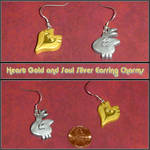 HeartGold SoulSilver Earrings