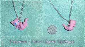 Pokemon - Mew Charm Necklace