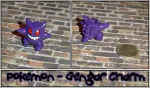 Pokemon - Gengar Charm by YellerCrakka