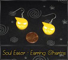 Soul Eater Logo Earring Charms