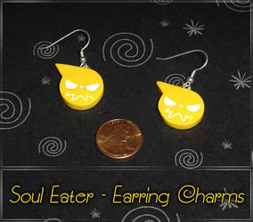 Soul Eater Logo Earring Charms by YellerCrakka