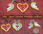 Legend of Zelda - Heart Piece Friendship Necklaces
