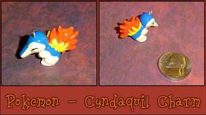 Pokemon - Cyndaquil Charm by YellerCrakka