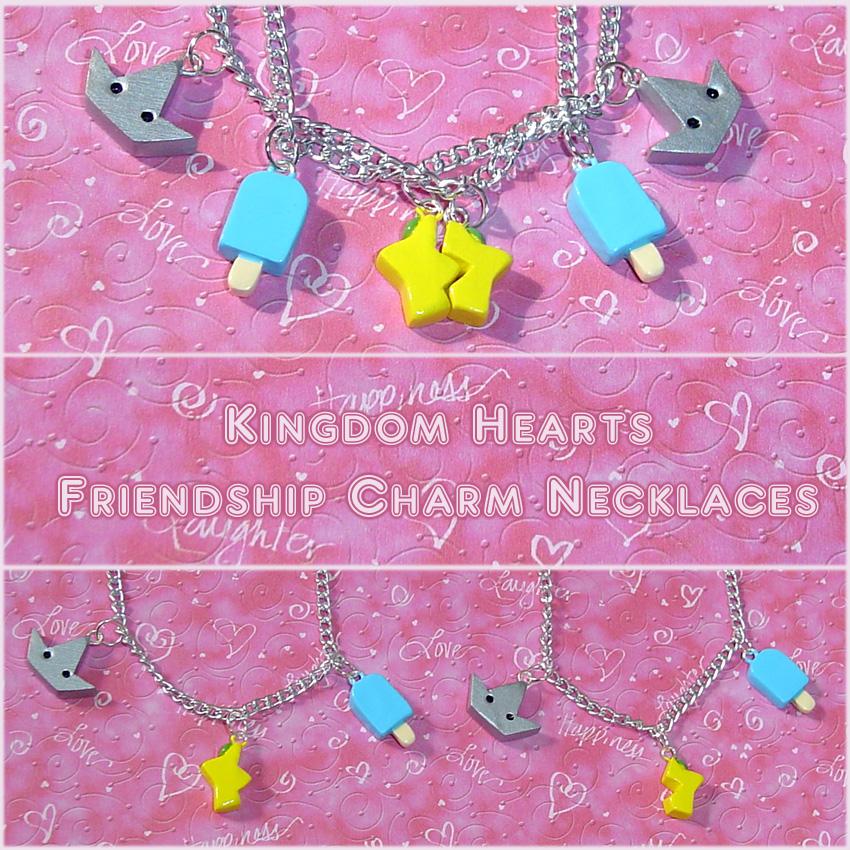 Kingdom Hearts Friend Jewelry by YellerCrakka