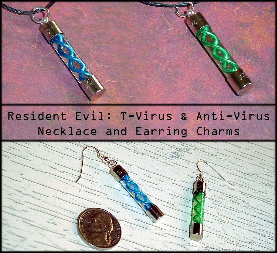 Resident Evil - T-Virus Charms