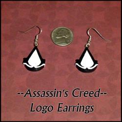 Assassins Creed Charm Earrings by YellerCrakka