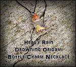 Heavy Rain - Origami Necklace