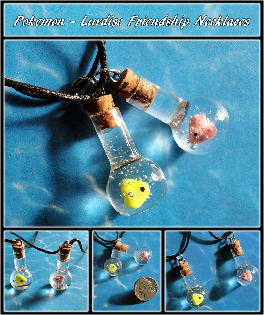 Pokemon Luvdisc Bottle Charms by YellerCrakka