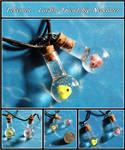 Pokemon Luvdisc Bottle Charms