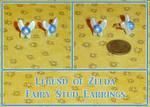 Zelda Navi Fairy Stud Earrings