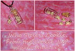 Mini Cookie Jar Charm Necklace