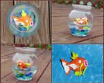 Pokemon - Magikarp Fishbowl by YellerCrakka