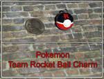 Pokemon Team Rocket Ball Charm