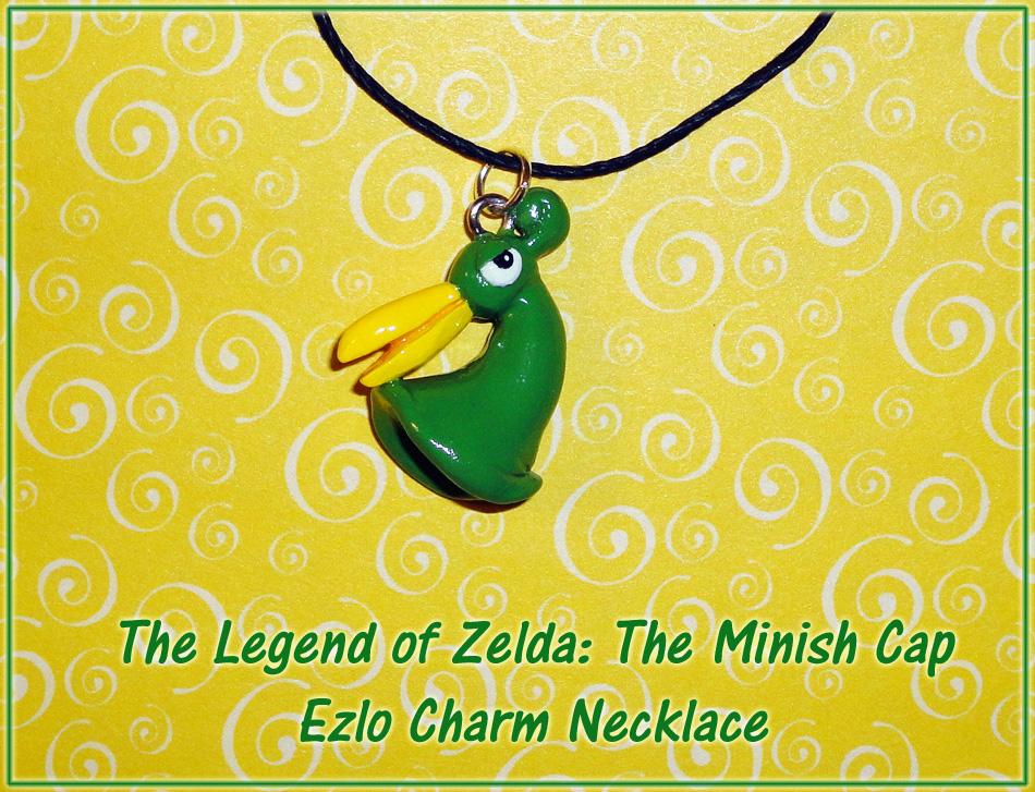 Zelda - Minish Cap - Ezlo Charm Necklace by YellerCrakka