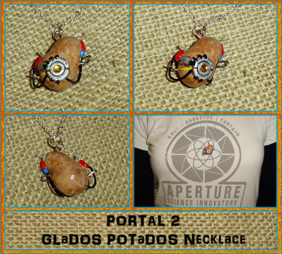 glados portal 2 potato - photo #36