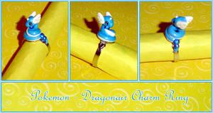Pokemon - Dragonair Charm Ring by YellerCrakka