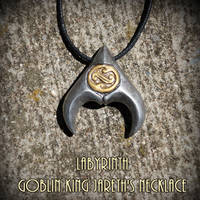 Labyrinth - Goblin King Jareth's Necklace by YellerCrakka