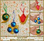 Zelda - Spiritual Stones Ornament Set