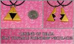 Zelda - Split Triforce Friendship Necklace Set
