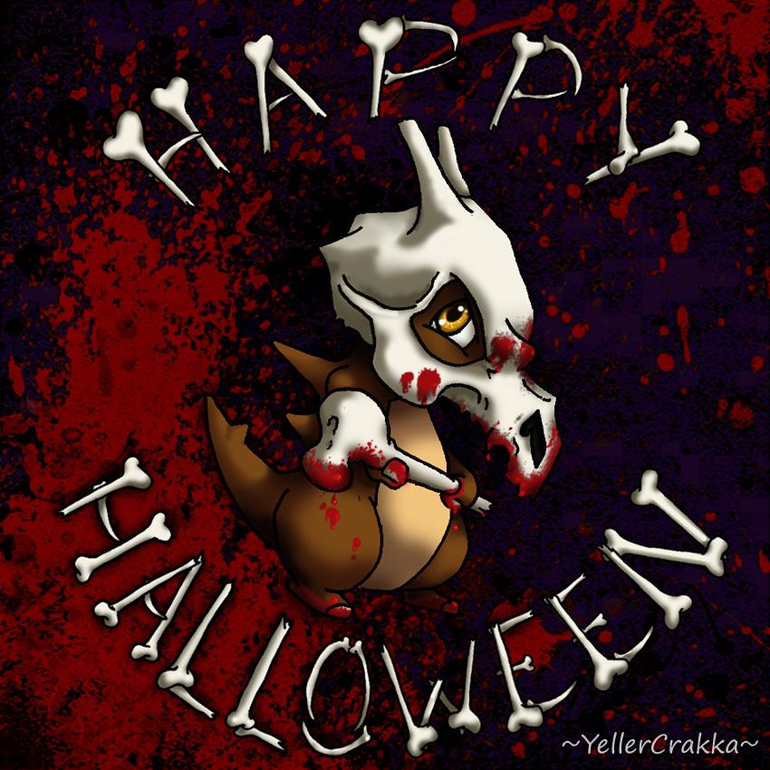 Pokemon - Happy Halloween Cubone by YellerCrakka
