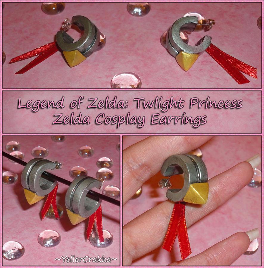 Legend of Zelda Twilight Princess Cosplay Earrings by YellerCrakka